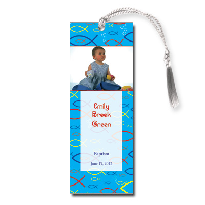Christian Fish Bookmark