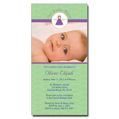 baptism girl ensemblesgirl baptism photo invitations announcements