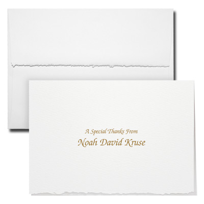 Deckle Edge Note Card