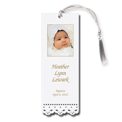 Lace Cut Photo Bookmark