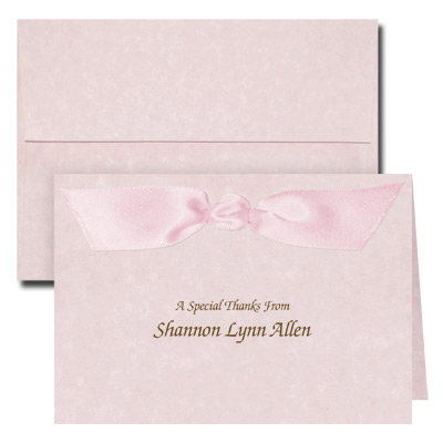 Parchment Pink Note Card