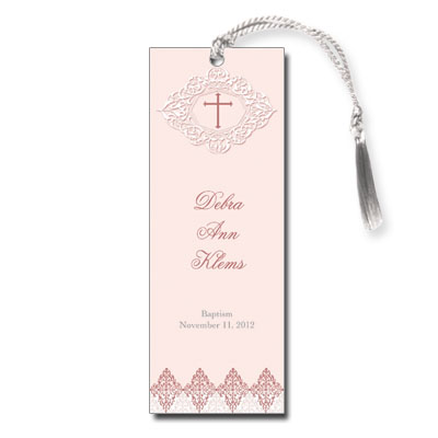 Elegant Rose Bookmark