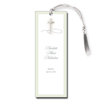 Simple Cross Bookmark