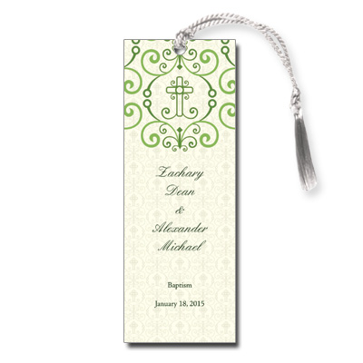 Adorned Cross Bookmark